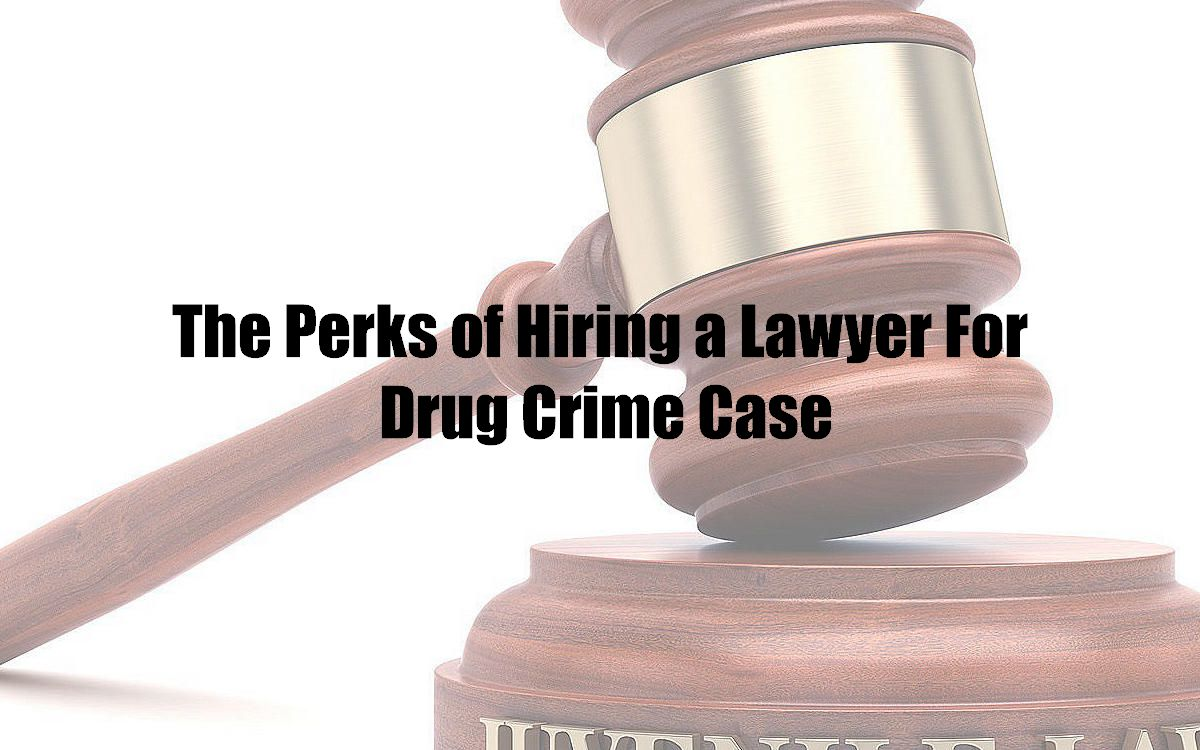 The Perks of Hiring a Lawyer For Drug Crime Case